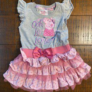 🎀3/$12🎀Peppa Pig Dress